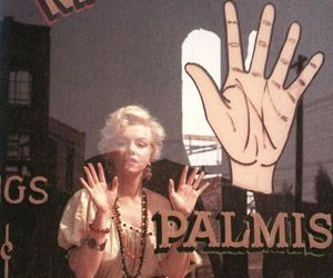 actress, Marilyn Monroe, and palm image