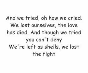 christina aguilera, hurt, and Lyrics image