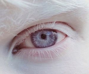 white, eye, and eyes image