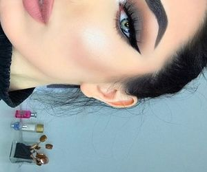 colors, cute, and make up image