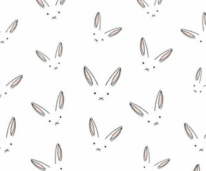 pink, rabbit, and rabbits image