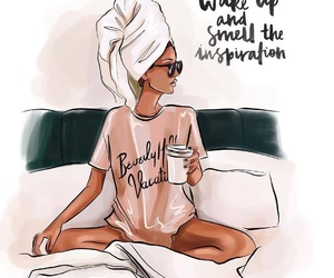 coffee, fashion, and fashion quotes image