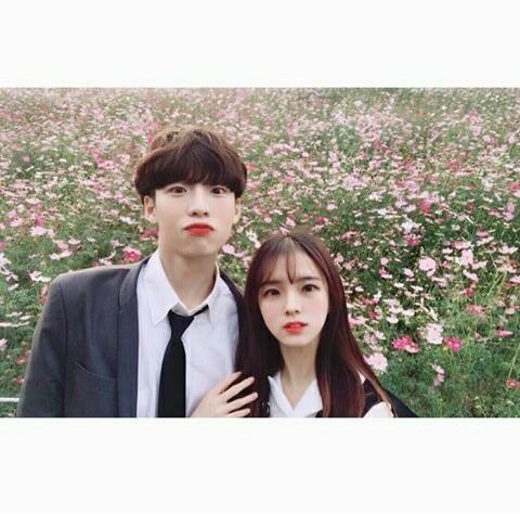anime, couple, and exo image