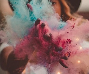 girl, colors, and photography image