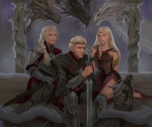 game of thrones and house targaryen image