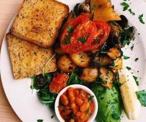 delicious, vegetarian, and food image