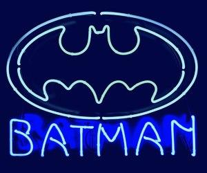 batman, blue, and comics image