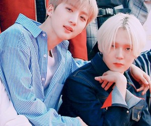 k-pop, hui, and jinho image