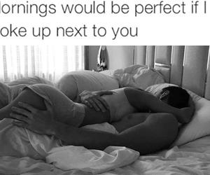 couple, good morning, and sleeping image