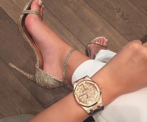 goal, watch, and heels image
