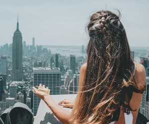 city life, travel, and new york image