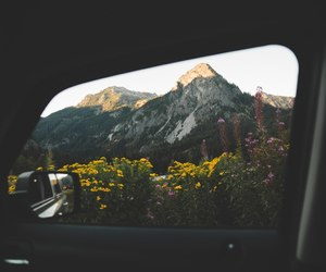 mountain, road, and travel image