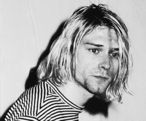 grunge, kurt cobain, and music image