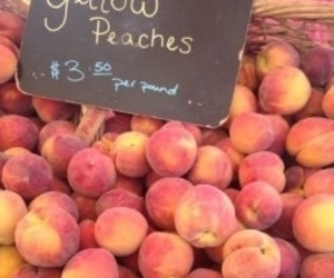 aesthetics, peaches, and peachy image
