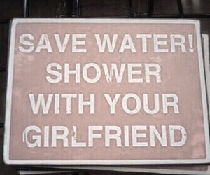 shower, girlfriend, and water image