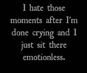 sad, quotes, and cry image