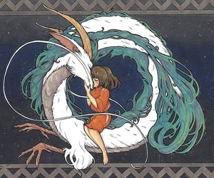 ghibli, spirited away, and studio ghibli image