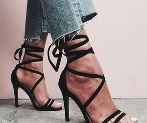 chic, shoes, and classy image
