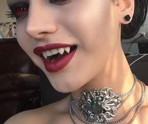 Halloween, vampire, and halloween makeup image
