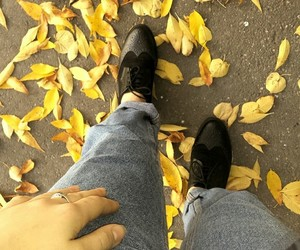 autumn, clasic, and jeans image