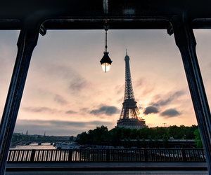 nights, paris, and tour eiffel image