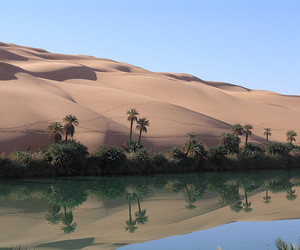 desert, nature, and river image