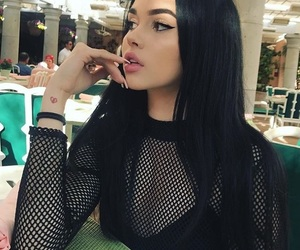 maggie lindemann, tumblr, and makeup image