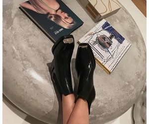 article, boots, and fashion image