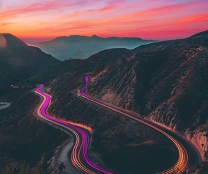sunset, colorful, and colors image