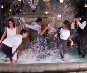 tv show, friends, and friends scene image