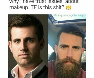 beards, funny, and guys image
