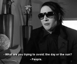 Marilyn Manson, people, and quotes image