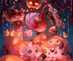 anime, Halloween, and pokemon image