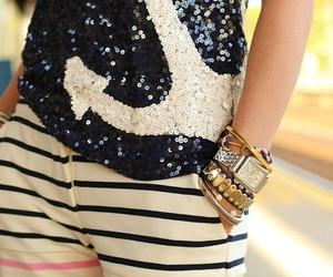 anchor, fashion, and cute image