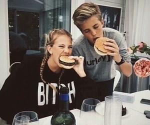 couple, goals, and food image