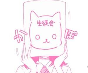 manga, cat, and anime image