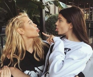 amizade, beauty, and best friends image