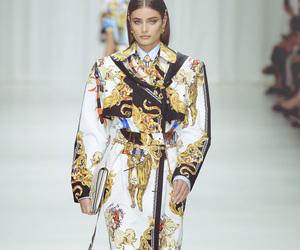 runway, Versace, and fashion image