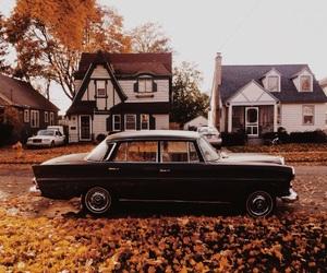 autumn, fall, and car image