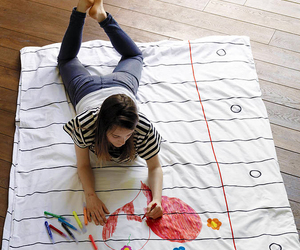 art, bed, and cool image