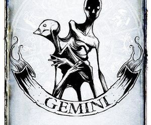 astrology, gemini, and zodiac image