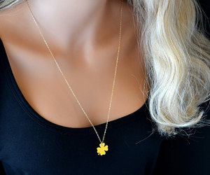 etsy, gold necklace, and kristen bell image