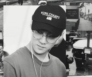 aesthetic, exo, and gray image