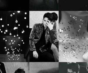aesthetic, black, and exo image