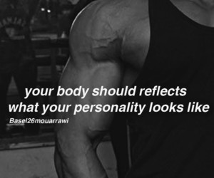 abs, gym, and motivation image