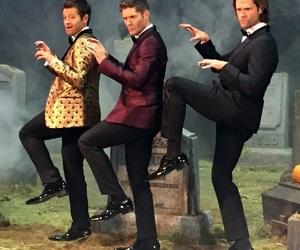 jared padalecki, j2, and Jensen Ackles image