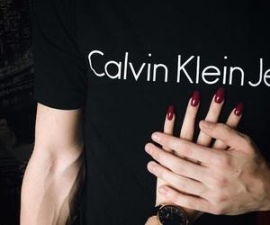 Calvin Klein, couple, and boy image