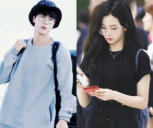 bts, seokjin, and jin bts image