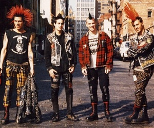punk, The casualties, and boys image