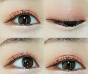 eyes, makeup, and eyes makeup image
